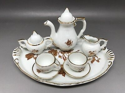 Miniature Tea Set - Made In Portugal (Y46)