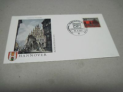 FDC Hannover 1964