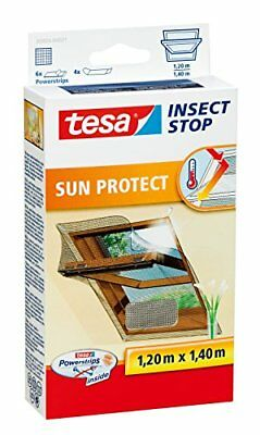 TESA Insect Stop Sun Protect - mosquito nets (1200 x 10 x 1400 mm, ABS sintétic