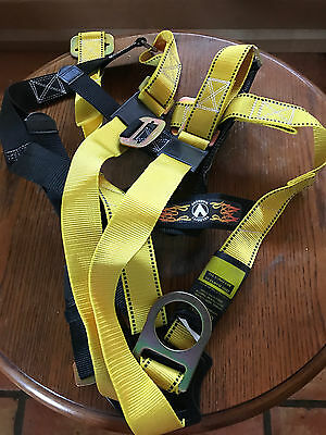 Guardian Fall Protection Body Strap Harness Safety -  Size : S-L