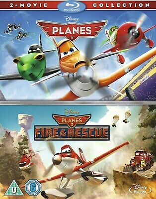 Planes/Planes: Fire and Rescue [Blu-ray]