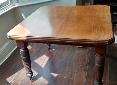 Victorian/edwardian Antique Dining Table