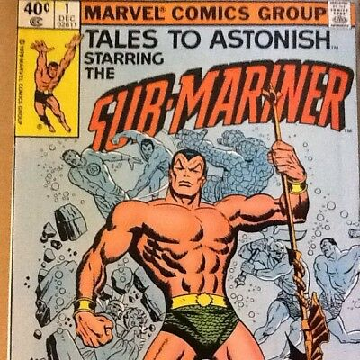 Tales To Astonish Starring The Sub-Mariner (Marvel 1979 Issues 1,3,4,5,6)