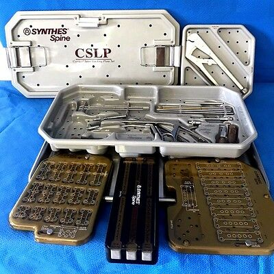 Synthes 304.875L, CSLP Instrument Set, Cervical Spine Locking Set, Orthopedic