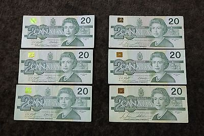Canadian Note 20$ (used)