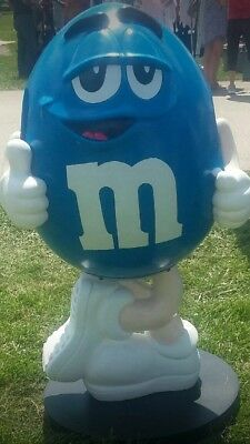 M&M Character Store Display Rare Blue PICK UP ONLY 4 Feet Tall