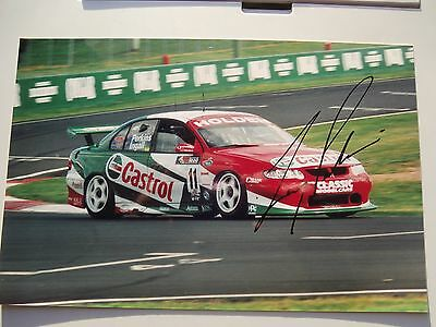 "Larry Perkins / Castrol Commodore - Perkins Racing ""signed"" Original Photograph"
