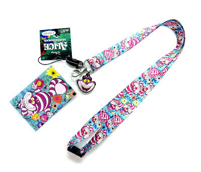 Alice in Wonderland Disney Alice in Wonderland Chesire Cat Multicolor Lanyard wi
