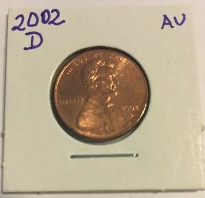 2002 D Lincoln Cent # 05