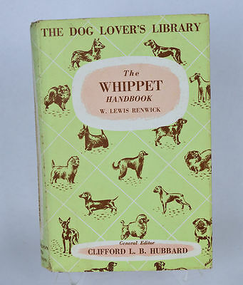 The Whippet Handbook No.10 The Dog Lover's Library (out of print) London