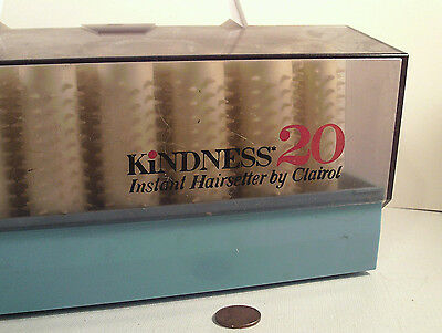 "ORIGINAL 1960's-70's-vintage (Clairol) ""Kindness-20"" Hairsetter Rollers Curlers!"