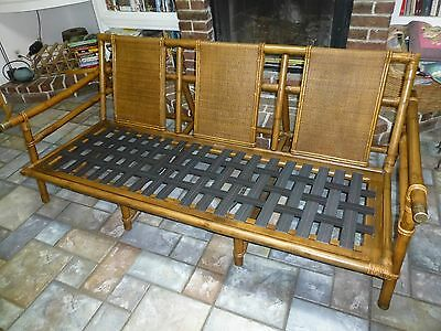 Ficks Reed John Wisner Far Horizons Collection Rattan Sofa