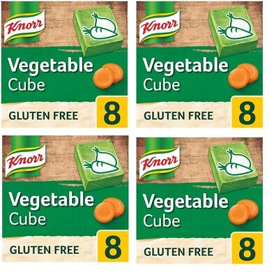 Knorr Stock Cubes Vegetable 8 Pack (80 Grams) - nation's favourite stock brand!
