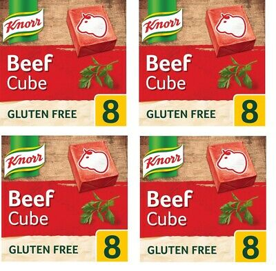 Knorr Stock Cubes Beef 8 Pack (80 Grams) - nation's favourite stock brand!