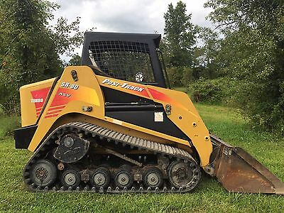 2008 Asv Sr80 Compact Track Skid Loader Diesel High Flow Cheap Shipping Rates