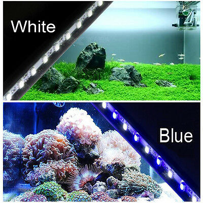 bleu / LED BLANC 18/28 / 38cm BANDE BARRE aquarium kit eclairage submersible