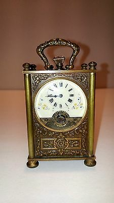 swiss made carriage clock- 1900