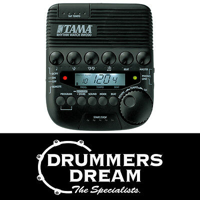 Tama Rhythm Watch RW200 Everything a drummer needs to stay on tempo