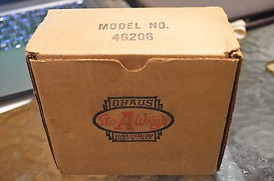 Ohaus Sto-a-Weight Model No. 46206 in the box complete with original grey stand