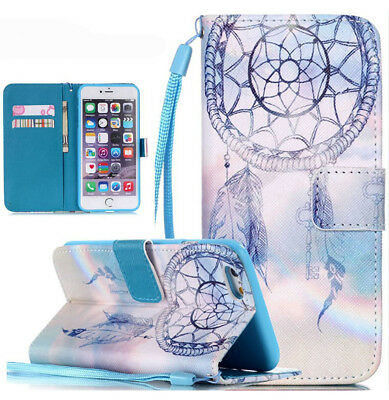 NEW Magnetic Card Leather Wallet Phone Case Stand Flip Cover For Apple iPhone 7