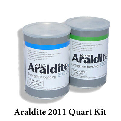 Araldite 2011 Slow-Set All-Purpose Epoxy Quart Kit-4lbs-2kg aka.-AW-106/HV-953U
