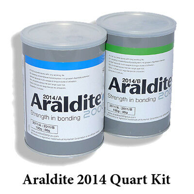 Araldite 2014 High-Temp Chemical-Proof Epoxy Gel-Quart Kit