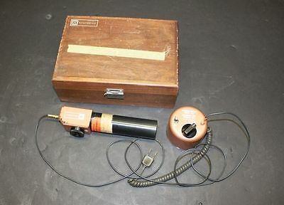 HOLOBEAM MODEL 3011 AUTOCOLLIMATOR with WOODEN STORAGE BOX