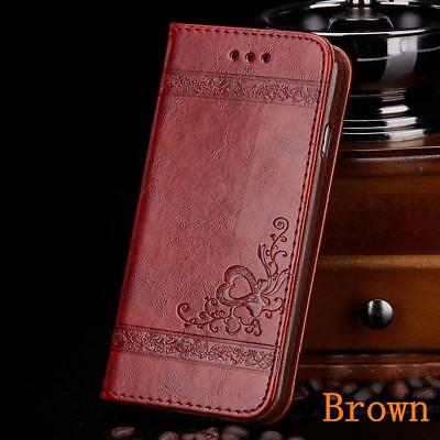 Pattern PU Leather Stand Flip Card Wallet Phone Case Cover for Samsung Galaxy S5