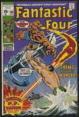 Fantastic Four 103 9.0 VF/NM Jack Kirby cover/art