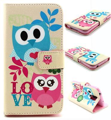 Luxury Card Holder Wallet Flip PU Leather Phone Case Cover For Samsung Galaxy S5