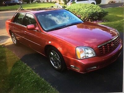 2001 Cadillac DTS  2001 Cadillac DTS deville loaded with only 66,969 miles northstar sunroof