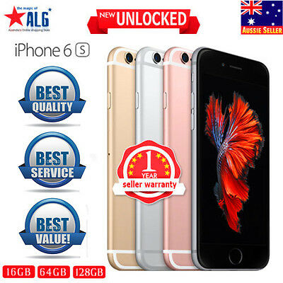 APPLE IPHONE 6S 16GB 64GB 128GB NEW UNLOCKED Space Grey Silver Gold Rose Gold +