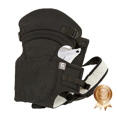 Childcare AWARD WINNING Baby Carrier Black - Brand new great design & function