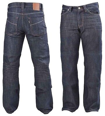 DIVALO® Motorcycle Denim Mens Jeans Extended Knitted DuPont® Kevlar® Lining