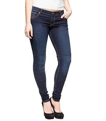 DIVALO® Motorbike Denim Women Protective Knitted Made With DuPont™ Kevlar® Jeans