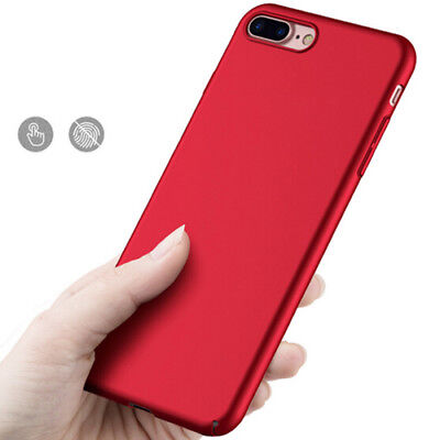 Thin Hard Plastic Protective Shell Phone Case Back Cover For iPhone 5 6 7 Plus