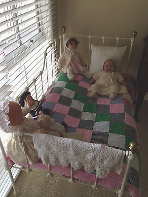 antique baby cot