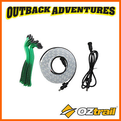 Oztrail 12V LED 2M FLEXIBLE STRIP EXTENDER 1800 LUMENS CAMPING GAZEBO LIGHT