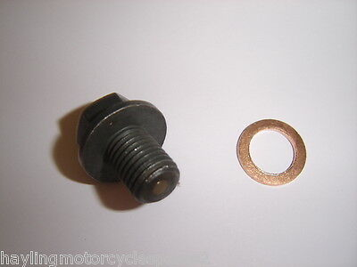 Aftermarket Magnetic Oil Drain Bolt Sump Plug Yamaha Yz426 Yz 426 00-02 New