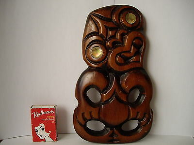Large New Zealand Tiki Wall Hanging