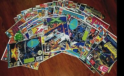 Lot of 84 Comic Books mostly early 80s includes DC, Marvel, X-Men etc.