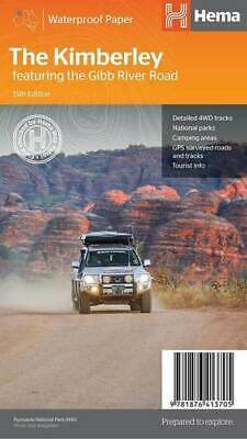 Hema Map The Kimberley  : 15th Edition Featuring the Gibb River Road