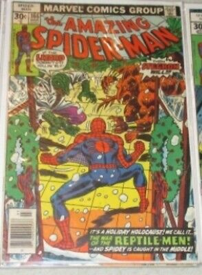 Amazing Spider-Man #166 Marvel (1976) Comic Book FN+/VF-