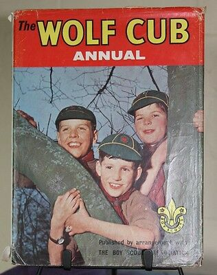 The Wolf Cub Annual 1963. Boy Scouts Association. Vintage collectable