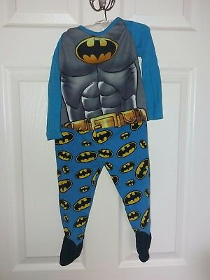 Batman boys 12-18 months footed pyjamas with feet