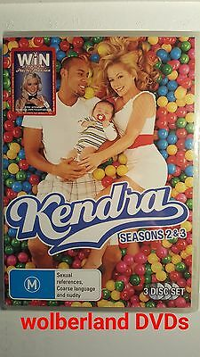 Kendra : Season 2 & 3 [ 3 DVD Set ] Region 4, NEW & SEALED, Free Next Day Post