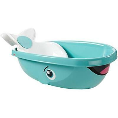 Fisher-Price Whale of a Tub Bathtub, White New