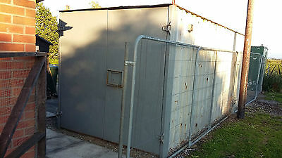 21Ft X 8 Ft Steel Shipping / Storage Container