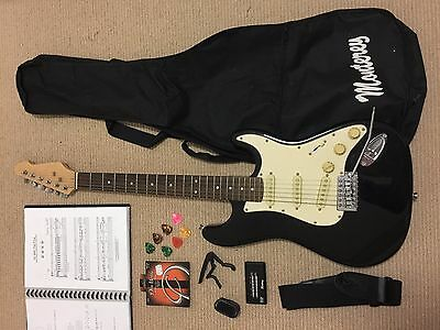 Electric Guitar Pack (Black) including Amp & Accessories