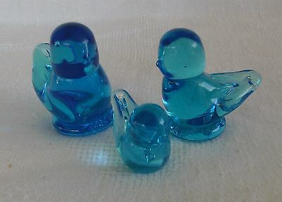 Lot of 3-Bluebirds of Happiness-Signed Ron Ray-1993